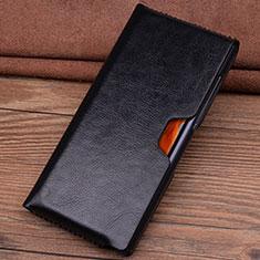 Coque Portefeuille Livre Cuir Etui Clapet T04 pour Huawei Mate Xs 5G Noir