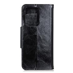 Coque Portefeuille Livre Cuir Etui Clapet T05 pour Huawei P40 Pro+ Plus Noir