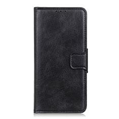 Coque Portefeuille Livre Cuir Etui Clapet T06 pour OnePlus 8 Pro Noir