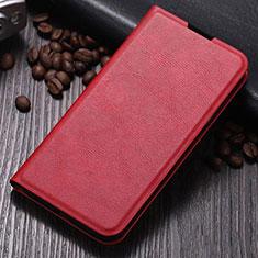 Coque Portefeuille Livre Cuir Etui Clapet T06 pour Samsung Galaxy Note 10 Plus 5G Rouge