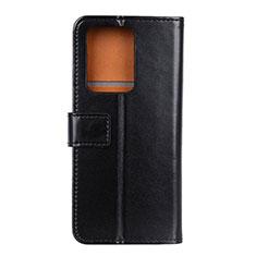 Coque Portefeuille Livre Cuir Etui Clapet T07 pour Huawei P40 Pro+ Plus Noir