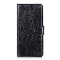 Coque Portefeuille Livre Cuir Etui Clapet T08 pour Realme X50 Pro 5G Noir