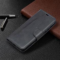 Coque Portefeuille Livre Cuir Etui Clapet T08 pour Xiaomi Redmi 9A Noir