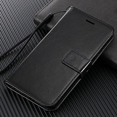 Coque Portefeuille Livre Cuir Etui Clapet T09 pour Oppo Find X2 Pro Noir