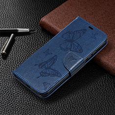 Coque Portefeuille Livre Cuir Etui Clapet T09 pour Xiaomi Redmi 9A Bleu