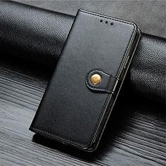 Coque Portefeuille Livre Cuir Etui Clapet T10 pour Oppo Find X2 Lite Noir