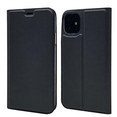 Coque Portefeuille Livre Cuir Etui Clapet T11 pour Apple iPhone 11 Noir