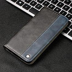 Coque Portefeuille Livre Cuir Etui Clapet T11 pour Huawei P20 Pro Bleu
