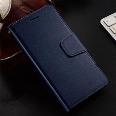 Coque Portefeuille Livre Cuir Etui Clapet T12 pour Huawei Honor 20 Lite Bleu