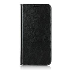Coque Portefeuille Livre Cuir Etui Clapet T14 pour Huawei P40 Pro Noir