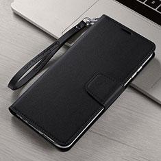 Coque Portefeuille Livre Cuir Etui Clapet T15 pour Xiaomi Mi Note 10 Noir