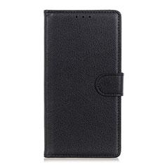 Coque Portefeuille Livre Cuir Etui Clapet T16 pour Samsung Galaxy Note 20 5G Noir