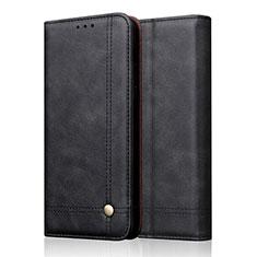 Coque Portefeuille Livre Cuir Etui Clapet T19 pour Apple iPhone 11 Pro Max Noir