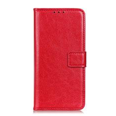 Coque Portefeuille Livre Cuir Etui Clapet T22 pour Samsung Galaxy Note 20 5G Rouge