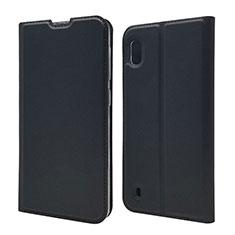 Coque Portefeuille Livre Cuir Etui Clapet U01 pour Samsung Galaxy A10 Noir