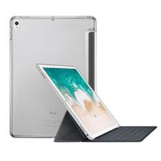 Coque Portefeuille Livre Cuir L01 pour Apple iPad Pro 10.5 Blanc