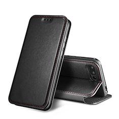 Coque Portefeuille Livre Cuir L01 pour Huawei Honor 10 Noir