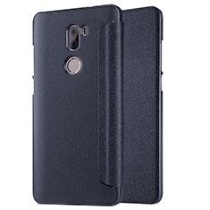 Coque Portefeuille Livre Cuir L01 pour Xiaomi Mi 5S Plus Noir