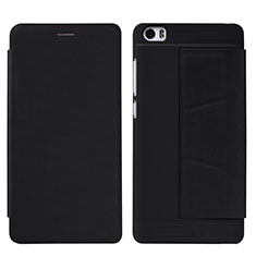 Coque Portefeuille Livre Cuir L01 pour Xiaomi Mi Note Noir