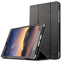 Coque Portefeuille Livre Cuir L01 pour Xiaomi Mi Pad 3 Noir