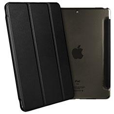 Coque Portefeuille Livre Cuir L02 pour Apple iPad Pro 10.5 Noir
