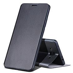 Coque Portefeuille Livre Cuir L02 pour Huawei Mate 10 Noir