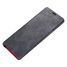 Coque Portefeuille Livre Cuir L02 pour Samsung Galaxy Note 8 Duos N950F Noir