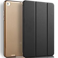 Coque Portefeuille Livre Cuir L02 pour Xiaomi Mi Pad 3 Noir