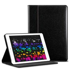 Coque Portefeuille Livre Cuir L03 pour Apple iPad Pro 10.5 Noir