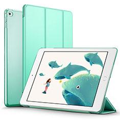 Coque Portefeuille Livre Cuir L05 pour Apple iPad Mini 4 Vert