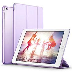 Coque Portefeuille Livre Cuir L06 pour Apple iPad Mini 3 Violet