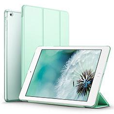 Coque Portefeuille Livre Cuir L06 pour Apple iPad Mini Vert