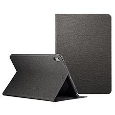Coque Portefeuille Livre Cuir L06 pour Apple iPad Pro 10.5 Noir