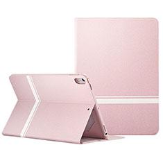Coque Portefeuille Livre Cuir L06 pour Apple iPad Pro 10.5 Rose