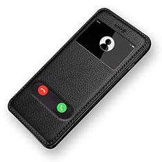 Coque Portefeuille Livre Cuir L06 pour Apple iPhone 6 Noir