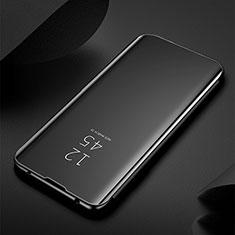 Coque Portefeuille Livre Cuir Miroir Housse Etui Clapet M03 pour Samsung Galaxy S20 Ultra Noir