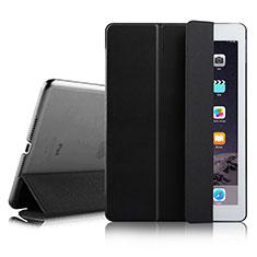 Coque Portefeuille Livre Cuir pour Apple iPad Air 2 Noir