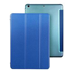 Coque Portefeuille Livre Cuir pour Apple iPad Air Bleu