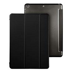 Coque Portefeuille Livre Cuir pour Apple iPad Air Noir