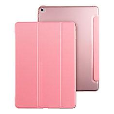 Coque Portefeuille Livre Cuir pour Apple iPad Mini 4 Rose