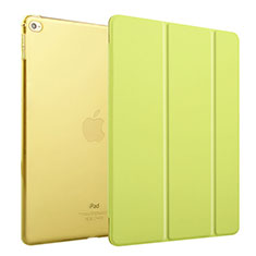 Coque Portefeuille Livre Cuir pour Apple iPad Mini 4 Vert