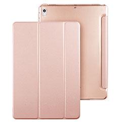Coque Portefeuille Livre Cuir pour Apple iPad Pro 10.5 Or Rose