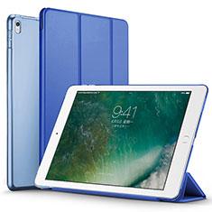 Coque Portefeuille Livre Cuir pour Apple iPad Pro 12.9 (2017) Bleu