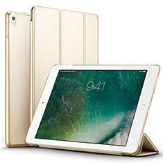 Coque Portefeuille Livre Cuir pour Apple iPad Pro 12.9 (2017) Or