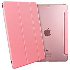 Coque Portefeuille Livre Cuir pour Apple New iPad 9.7 (2017) Rose