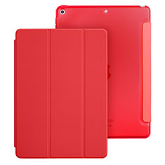 Coque Portefeuille Livre Cuir pour Apple New iPad 9.7 (2018) Rouge