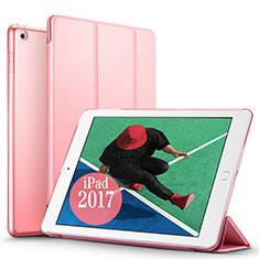 Coque Portefeuille Livre Cuir pour Apple New iPad Pro 9.7 (2017) Rose