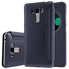 Coque Portefeuille Livre Cuir pour Asus Zenfone 3 Laser Noir