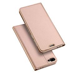 Coque Portefeuille Livre Cuir pour Asus Zenfone 4 Max ZC554KL Or Rose