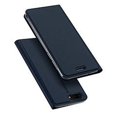 Coque Portefeuille Livre Cuir pour Asus Zenfone 4 ZE554KL Bleu